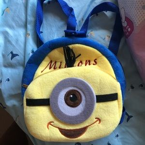 Other - Minion plush mini backpack